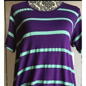 LuLaRoe Perfect Tee XS EUC